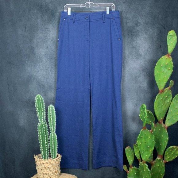 CLEARANCE 🆕Trina Turk Wide Leg Linen Pants NWOT